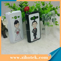 PC 2D sublimation hard cover for Samsung Ace 4 with heat press printing
