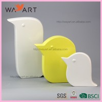 BSCI Good Quality Bird Couple Ceramic Seagull Decoration
