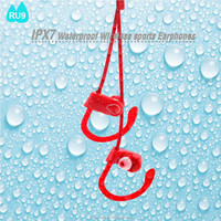 RU9 2017 Top sale original earphone bluetooth wireless stereo hifi sound headset handsfree for cell phone