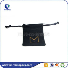 Multifunctional Microfiber Drawstring Camera Bag With Shop Name