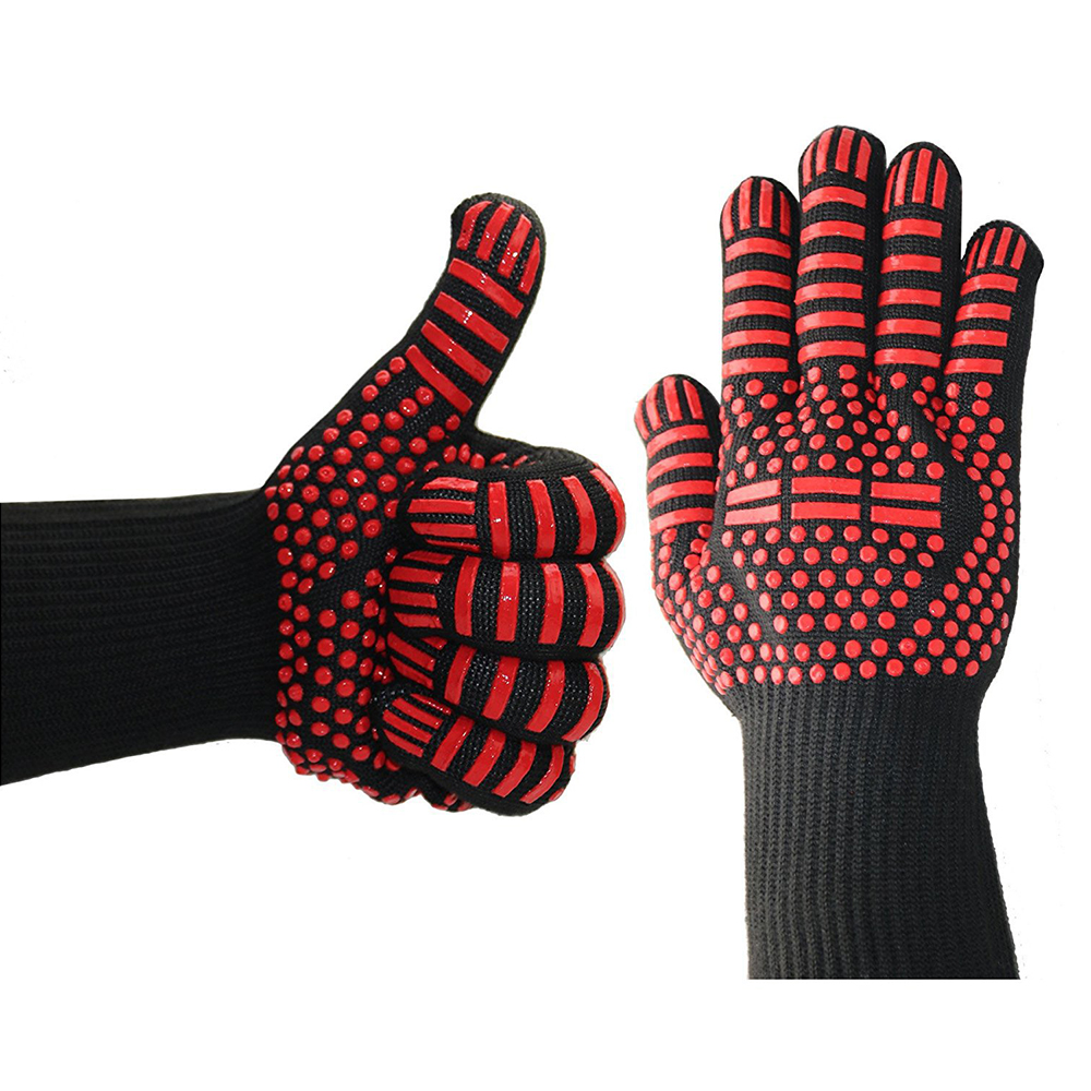 932 F Extreme Heat Resistant Gloves For Kitchen Cooking