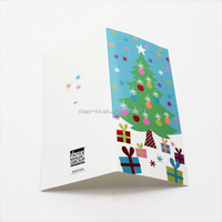 Custom Design Christmas Greeting Cards Offset