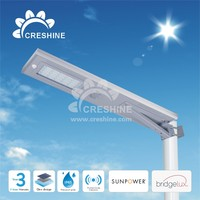 Solar energy system led street brightness solar garden light fixture