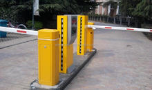 Remote control 1-6m Straight arm smart gate parking barrier philippines vehicle loop detector price flexible gate arms