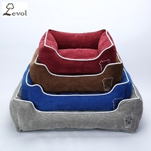 Best quality nice price waterproof pet dog bed