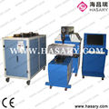 High efficiency double head up and down cutting laser label die cutting machine cardboard