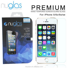 Tempered Glass Screen Protector for iPhone 5S iphone5c clear screen protector
