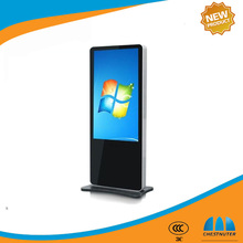65 inch LCD touch screen Floor Stand Ad media Player