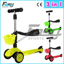 Fasy fabulas three wheels plastic deck aluminum kids scooters