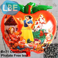 different fruit helium apple shape balloon