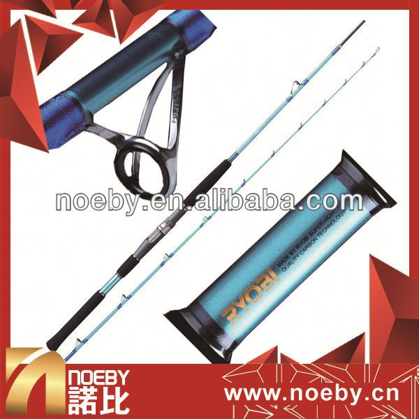 NOEBY boat fishing rod tackle telescopic fishing rod and reel