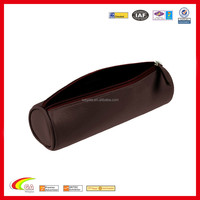 Custom high quality leather pen bag for students