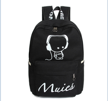 High quality cheap laptop school canvas bag backpack