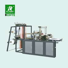 Factory computer controlled pe high speed vest shopping plastic t-shirt two lines bag making machine products price
