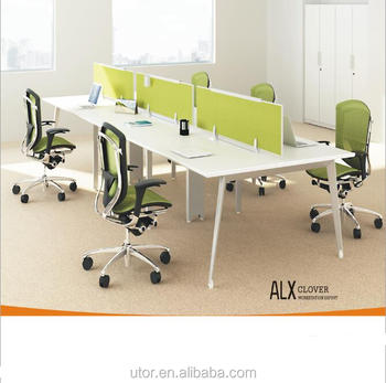 ALX series popular office desk modern office cubicle open workstation