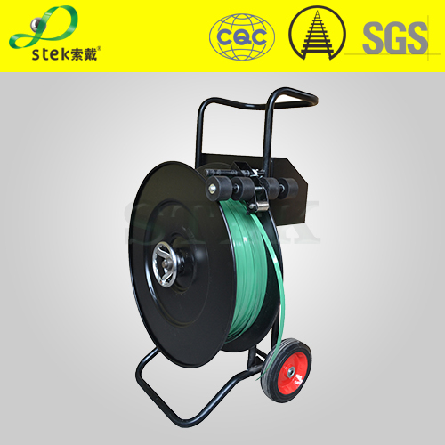 PET PP strap Trolley, steel strap Dispenser, cheap, good quality