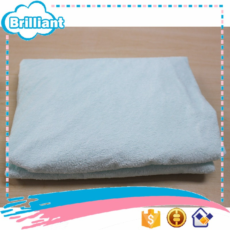 100% Cotton terry cloth TPU waterproof bedspread