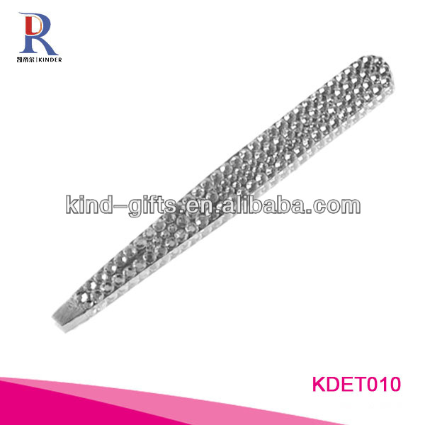 2013 The Most Fashionable Bling Rhinestone Diamond Automatic Eyebrow Tweezers Supplier|Factory|Manufacturer