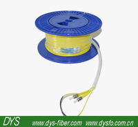 ST to SC Singlemode Pulling eye Fiber Optic Patch Cables ,Duplex,with ROHS.100% tested