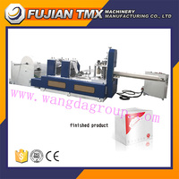 Cheap price WD-NPM-180-500 II two color printing napkin paper making machine