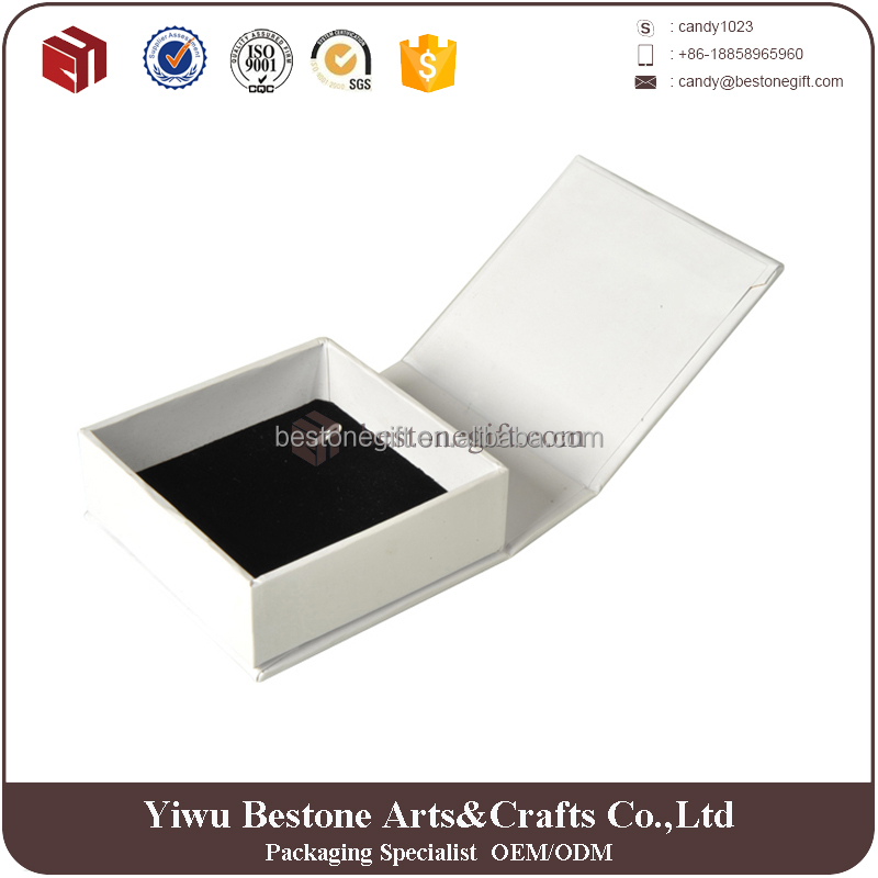 Luxury large white Mens paper cardboard gift packaging box jewelry
