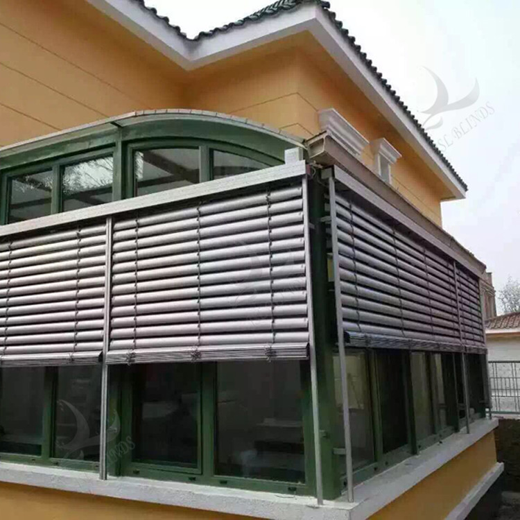 Good Quality Heavy Duty Outdoor Aluminum Blinds Shades