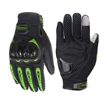 Motorcycle Gloves Moto Racing Carbon Fiber Leather Guante Para Leather Motorbike Racing Sports Touch Screen Gloves