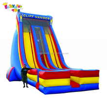 Promotion giant inflatable used adult water park slides for sale
