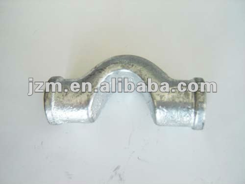 NPT Threaded electrical conduilt body, Galvanized pipe fitting cross over