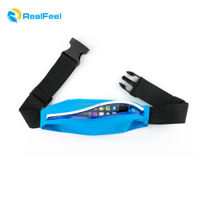 Adjustable Sports and Travel Pack Cell phones holds Running Belt Fanny Pack elastic Waist Bag