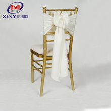 red crystal organza chair sashes chair decoration tie for wedding