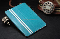 Ultra-thin sheepskin lines Style Leather Case for ipad5