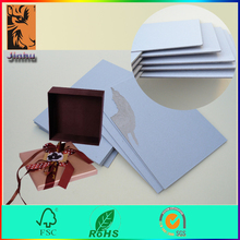 wholesale stiff cardboard thick gray paperboard for cardboard box