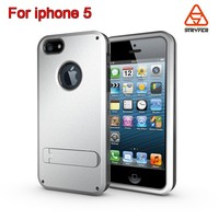 Stryfer Kickstand cover for iphone 5 strong bag ,mobile phone case for iphone 5