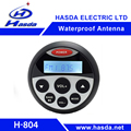 round marine mp3 player with usb rca aux bt