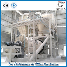 GCC ball mill and classifying production line