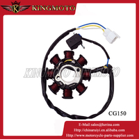 KINGMOTO 151102-16 Motorcycle Engine Parts 12 Poles Magneto with Super Power for 125cc/150cc/200cc/250cc engines