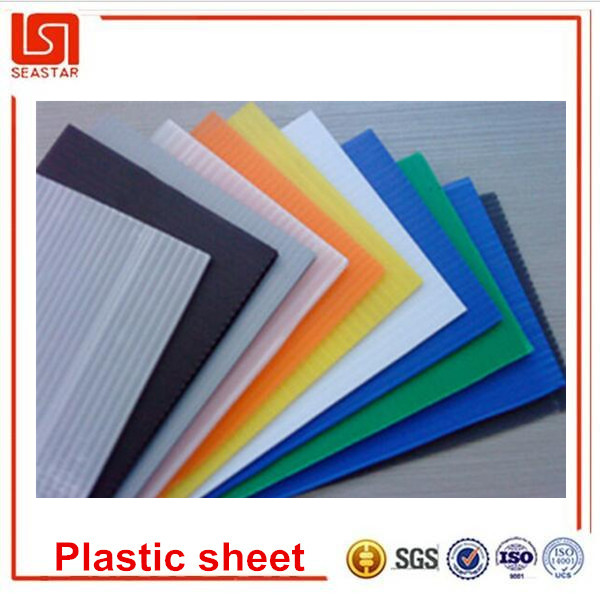 Cheap extruded pp corrugated pallet sheets