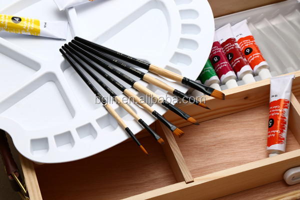 (New) 511 Acrylic Painting Brush Free Pain brush Sample Art Supplies