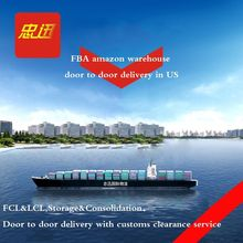 Shipping Amazon FBA Sea freight forwarder UPS special line door to door Including tax service China to USA
