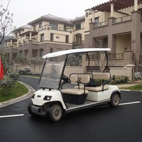 Prices 4 seaters electric open golf car (LT-A4)
