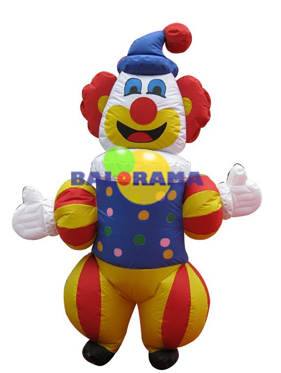 inflatable clown costume, 3 mt inflatabe mascot for sale