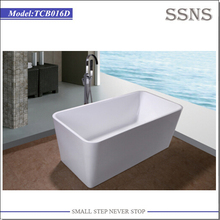 Indoor free standing type plastic portable bathtub cover