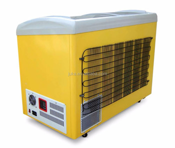 Solar power BD/BC-268 fish freezer