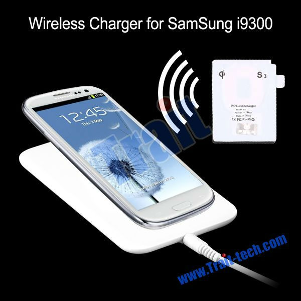 Factory price! High Quality Portable Wireless Charger for Samsung i9300 Galaxy S3