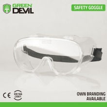 Safety goggles CE EN 166 with indirect ventilation