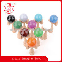 Japanese traditional Kendama wooden toy from ICTI factory