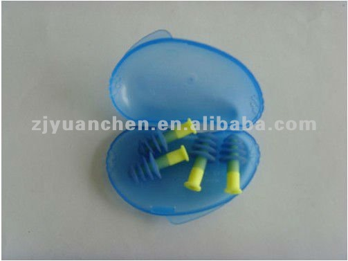 custom made plastic ear plug
