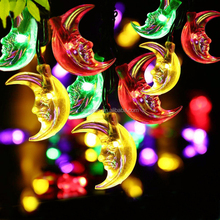 solar led string light Christmas Holiday Name and 110V Voltage C7/C9 light string with wheel