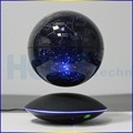6 inch LED Light magnetic levitation floating globe,anti gravity rotation, home decoration gifts crafts